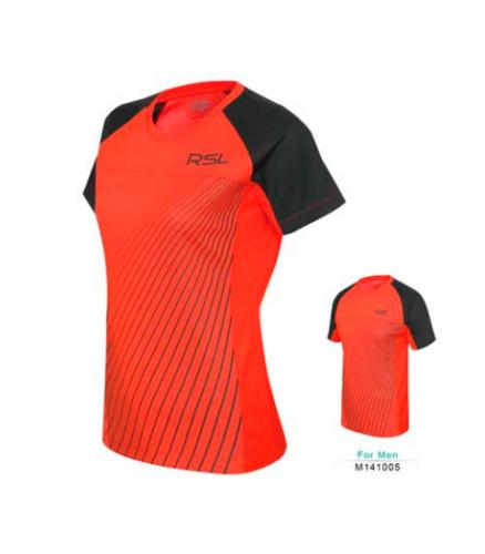 Тенниска RSL w141012 Orange/black