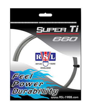 Струна для бадминтона RSL Super Ti660 (10м в уп)